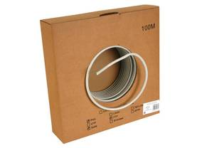 FTP CABLE, CAT6, 4 x 2 x 0.57mm, 4 TWISTED PAIRS, LENGTH : 100m - CAT5E/CAT6 kaapelit - FTPCAT6100 - 1
