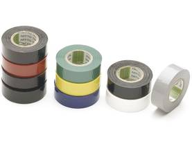 ASSORTED INSULATION TAPES 19mm x 10m (10pcs) - Eristysnauhat - 1040 - 1