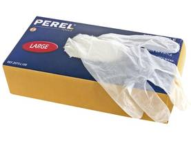 DISPOSABLE VINYL GLOVES - L - Hanskat ja sormikkaat - 2075-L100 - 1