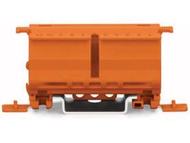 FIXING CARRIER FOR 2- TO 5-POLE COMPACT CONNECTORS, ORANGE - WAGO liittimet - WG222500 - 1