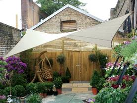 SQUARE SHADE SAIL - 3,6 x 3,6m, colour: Cream - Kalusteet - GSS4360 - 1