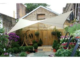 SQUARE SHADE SAIL - 5 x 5m, colour: Cream - Kalusteet - GSS4500 - 1