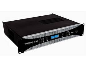 THARAS 200 - POWER AMPLIFIER 2 x 250Wrms (19'') - Vahvistimet - VPATR200 - 1