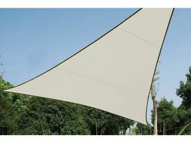 TRIANGLE SHADE SAIL - 3,6 x 3,6 x 3,6m, colour: Cream - Kalusteet - GSS3360 - 1