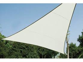 TRIANGULAR SHADE SAIL - 5 x 5 x 5m, colour: Cream - Kalusteet - GSS3500 - 1