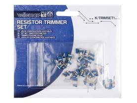 TRIMMERIPOTENTIOMETRISARJA - Hiilitrimmeripotentiometrit 10mm - KTRIMSET1 - 1