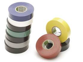 ASSORTED INSULATION TAPES 19mm x 20m (10pcs) - Eristysnauhat - 1045 - 1