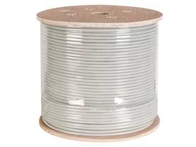 FTP CABLE, CAT6, 4 x 2 x 0.57mm, 4 TWISTED PAIRS, LENGTH : 305m - CAT5E/CAT6 kaapelit - FTPCAT6305 - 1