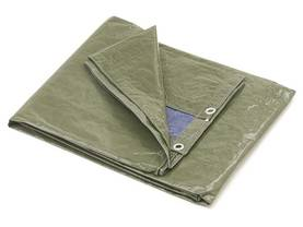 TARPAULIN - BLUE/GREEN - BASIC - 4 x 5m - Pressut - 254-45 - 1