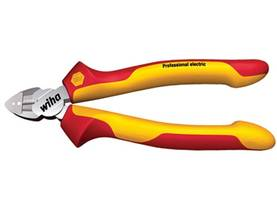 VDE/GS INSULATED 1000V AC CABLE & SIDECUTTER PLIER PROFESSIONAL ELECTRIC - 160mm - WIHA - Z14006 - Pihdit - VDE - WH26745 - 1