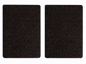 FELT TAPE - RECTANGLE 68MM X 95MM, 2PCS - Kotitaloustarvikkeet - DTF7 - 1