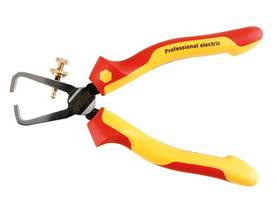 VDE/GS INSULATED 1000V AC STRIPPING PLIER PROFESSIONAL ELECTRIC - 160mm - WIHA - Z55006 - Pihdit - VDE - WH26847 - 1