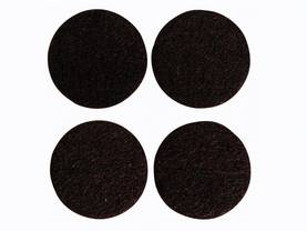 FELT TAPE - ROUND 50MM, 4PCS - Kotitaloustarvikkeet - DTF9 - 1