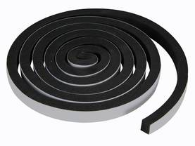 BLACK WEATHERSTRIP FOAM TAPE - 15MM X 2M - Kotitaloustarvikkeet - DTWS1B - 1
