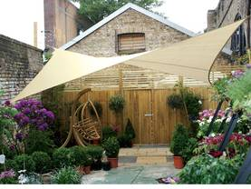 SQUARE SHADE SAIL - 3,6 x 3,6m, colour: Beige - Kalusteet - GSS4360B - 1