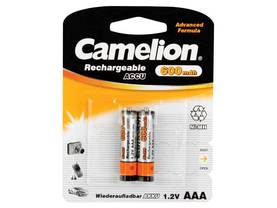 NiMH AAA 1.2V-600mAh (2/card) replaces :R03NM - NiMH akut- Camelion paristomalliset - HR3C - 1