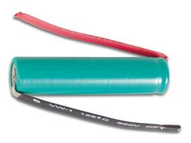 NiMH AAA-R3 RECHARGEABLE BATTERY, 1.2V-900mAh, WITH SOLDER TAGS - NiMH akut- Camelion juotoskorvilla - HR3LFC - 1