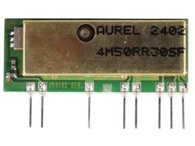 RX AM OOK 433.92MHz QUALITY RECEIVER (WITH SAW FILTER) - Lähetin- ja vastaanotinmodulit - Aurel - RX4M50RR30SF - 1