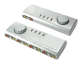 AUDIO/VIDEO SELECTOR - 4 INPUTS AND 1 OUTPUT - A/V valitsimet - VMS4N - 1