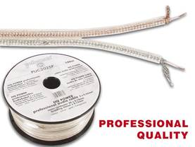 PROFESSIONAL PICK-UP CABLE 2 x 0.25mm² SILVER-GOLD, LENGTH ON REEL : 100m - Mikrofonikaapelit - PUC2025P - 1