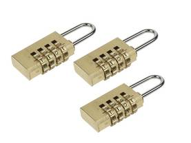 COMBINATION PADLOCK SET 3 x 20mm - Riippulukot - SLKCSET - 1