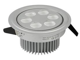 LED CEILING LIGHT - 6x1W -  NW (6500K) with DRIVER - LED lamput - HQPOWER - LEDA07NW - 1